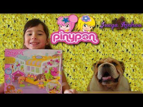 Cabaña de Mascotas PINYPON. Con una FLOR CARNÍVORA. Aventuras Pinypon - YouTube