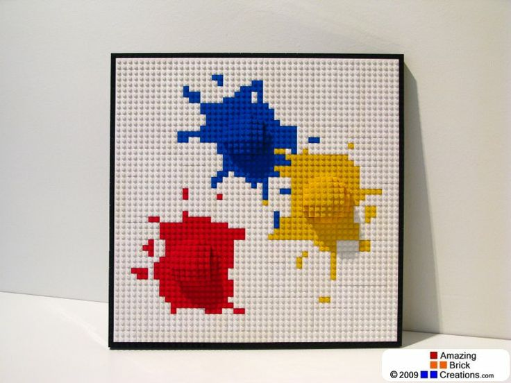 lego wall art lego and lego creations on pinterest. Black Bedroom Furniture Sets. Home Design Ideas