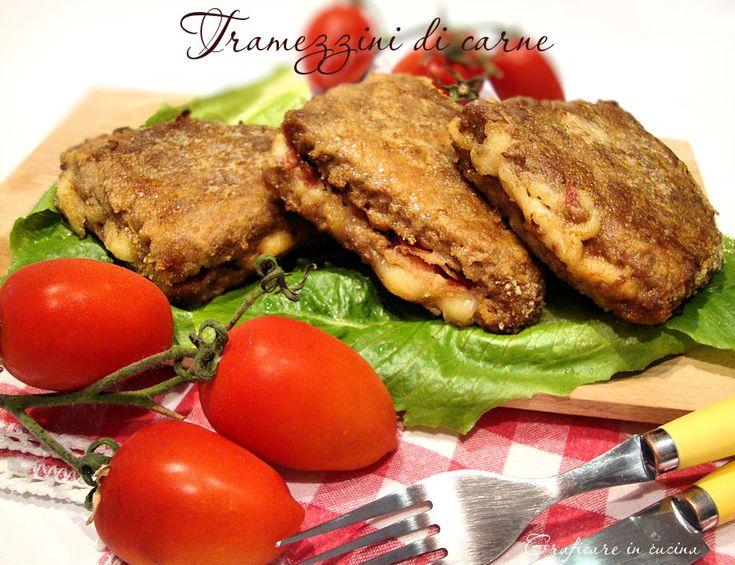 Tramezzini di carne http://blog.giallozafferano.it/graficareincucina/tramezzini-carne/