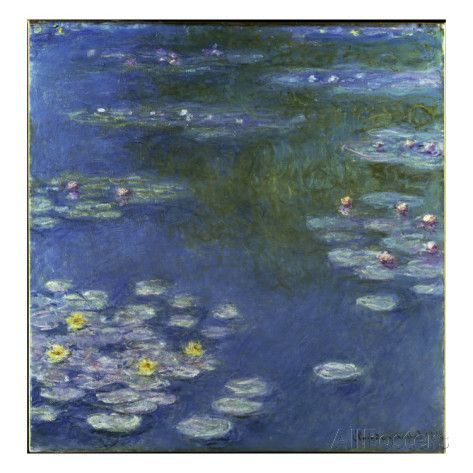 Waterlilies, 1908 Giclee Print by Claude Monet at AllPosters.com