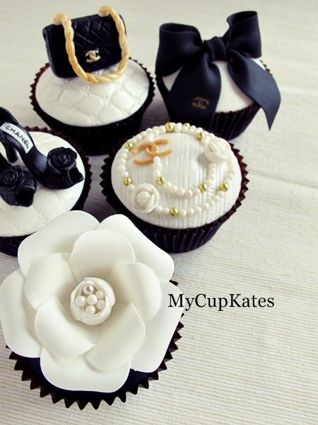 MyCupKates - Cakes, Cupcakes & Cookies: CHANEL Cupcakes. hint hint @Zulhelmy Zakawan
