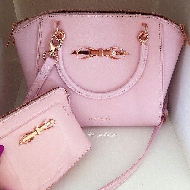 Cute Micheal Kors Pink Purse