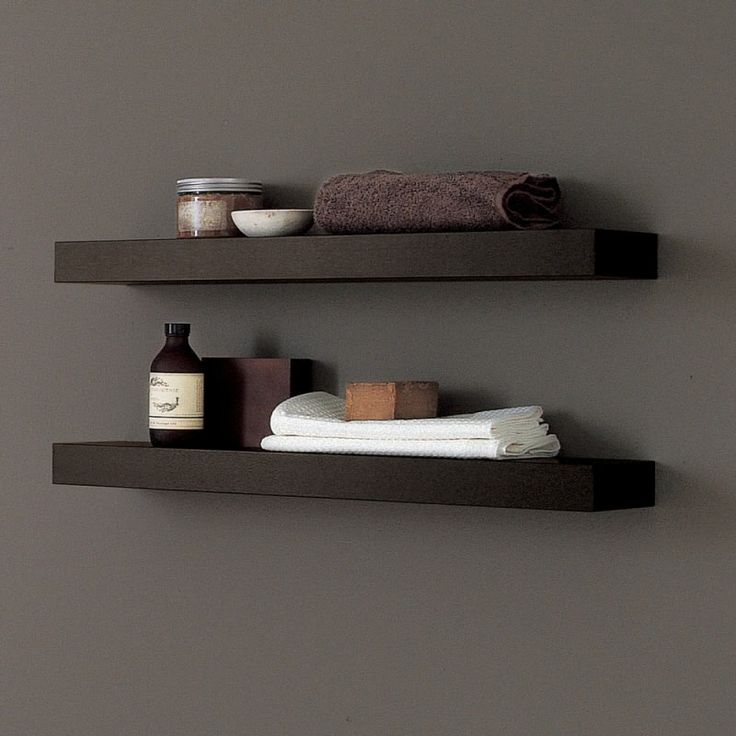 Wenge Floating Shelves Bathroom Ideas Pinterest