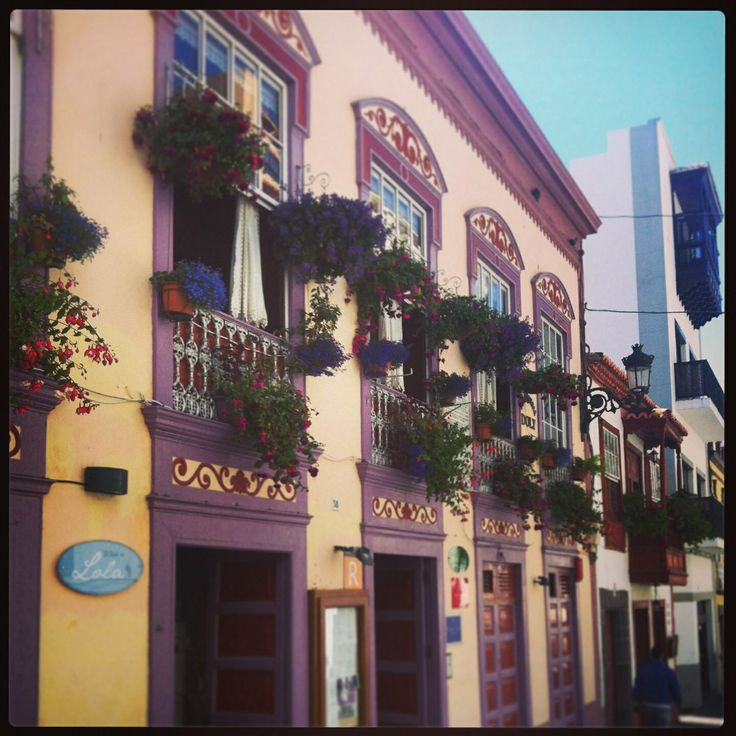 Santa Cruz de la Palma. Canary Islands