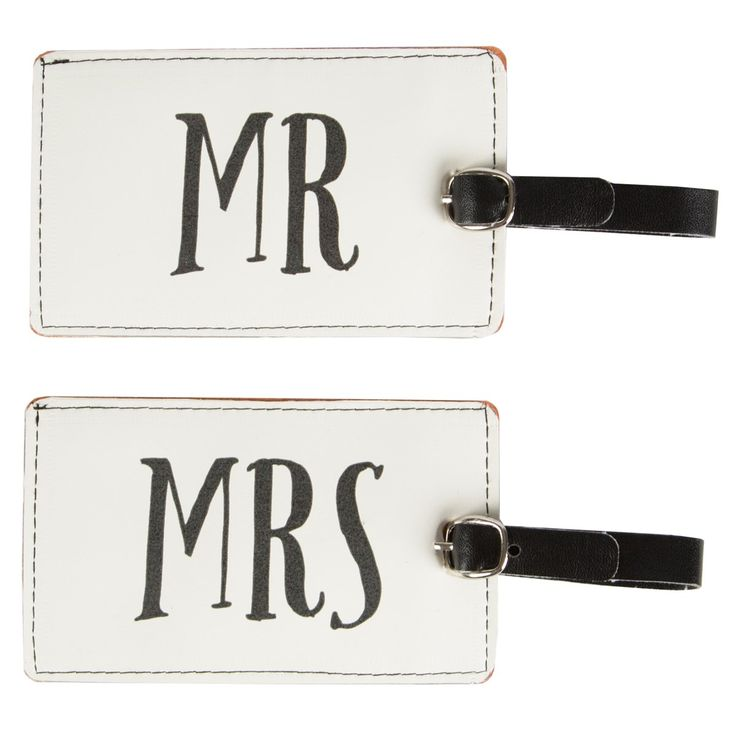 Mr & Mrs Luggage Tag (options available)
