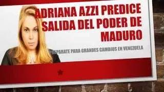 Predicciones de Adriana Azzi para Venezuela - YouTube