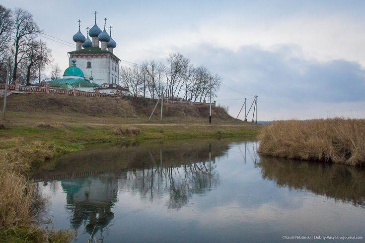 Бывшее имение Пушкиных