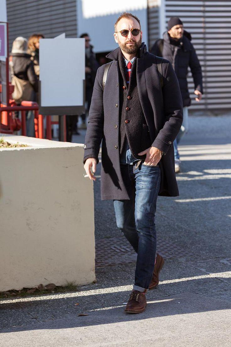 海外スナップに見るお洒落なデニムの着こなし方【ドレススタイル編】   LEON レオン オフィシャルWebサイト
