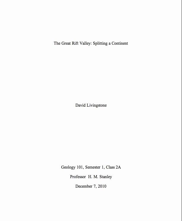 Extended Essay Title Page New Extended Essay Cover Page Template
