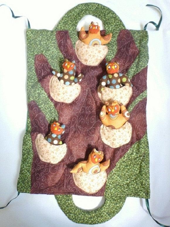 owl playmat