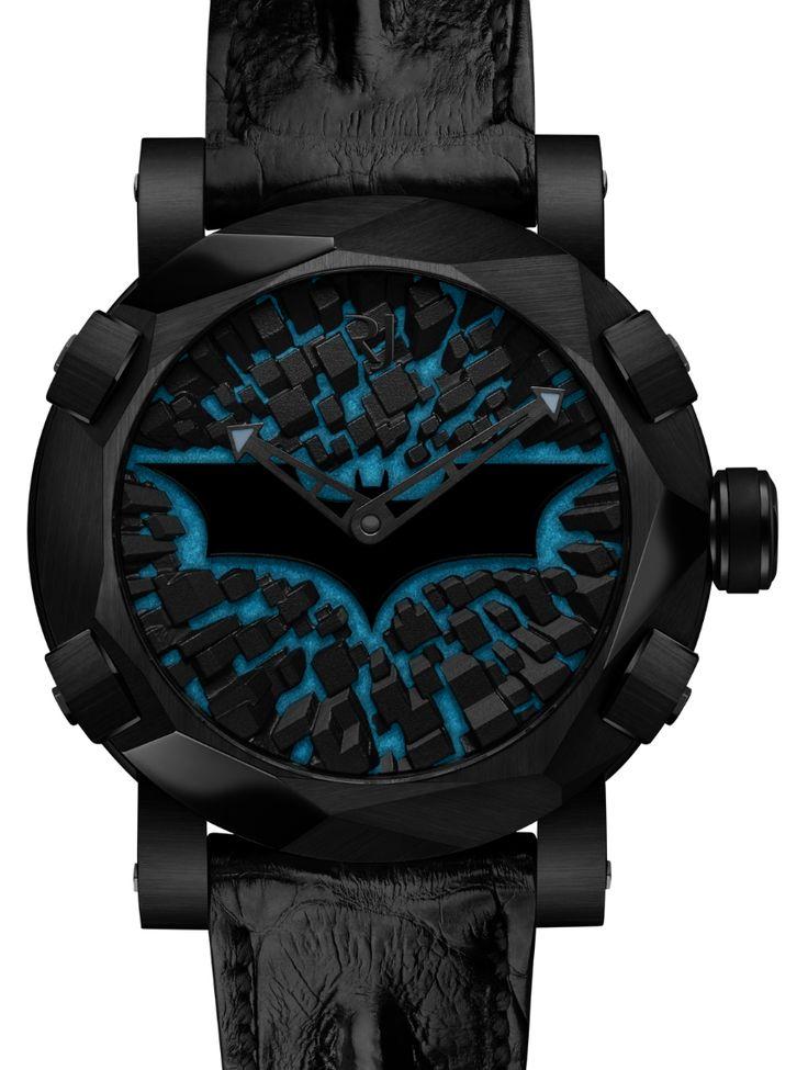 Romain Jerome Batman-DNA Gotham City Watch Hands-On Hands-On