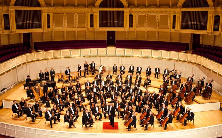 Instruments of an orchestra - ThingLink. This is awesome! Click on the different sections to hear what the instruments sound like!