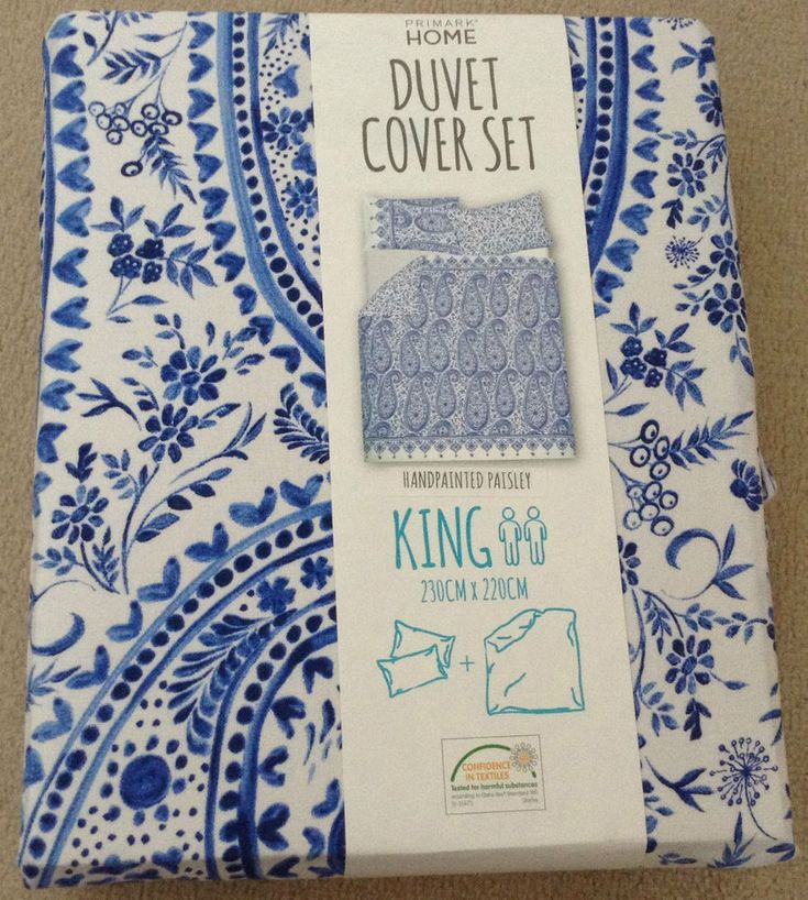Hand painted Paisley Bedding Set with Pillow case Single Double King Primark | eBay