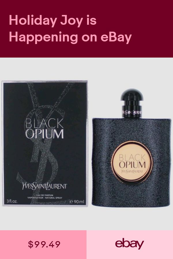 461f82702a3 Yves Saint Laurent Women's Fragrances Health & Beauty #ebay | Products | Black  opium perfume, Opium perfume, Yves saint laurent