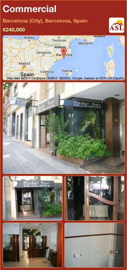 Commercial in Barcelona (City), Barcelona, Spain ►€240,000 #PropertyForSaleInSpain