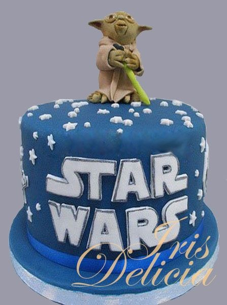 """Детский торт """"Йода"""" Звездные войны/StarWars)"""