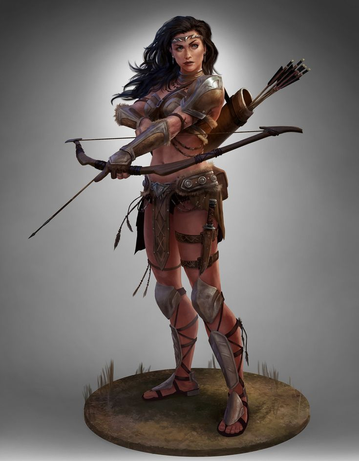 Картинки амазонок девушек