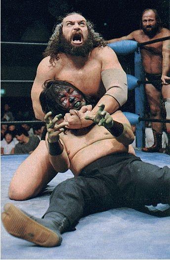The Great Kabuki vs Bruiser Brody