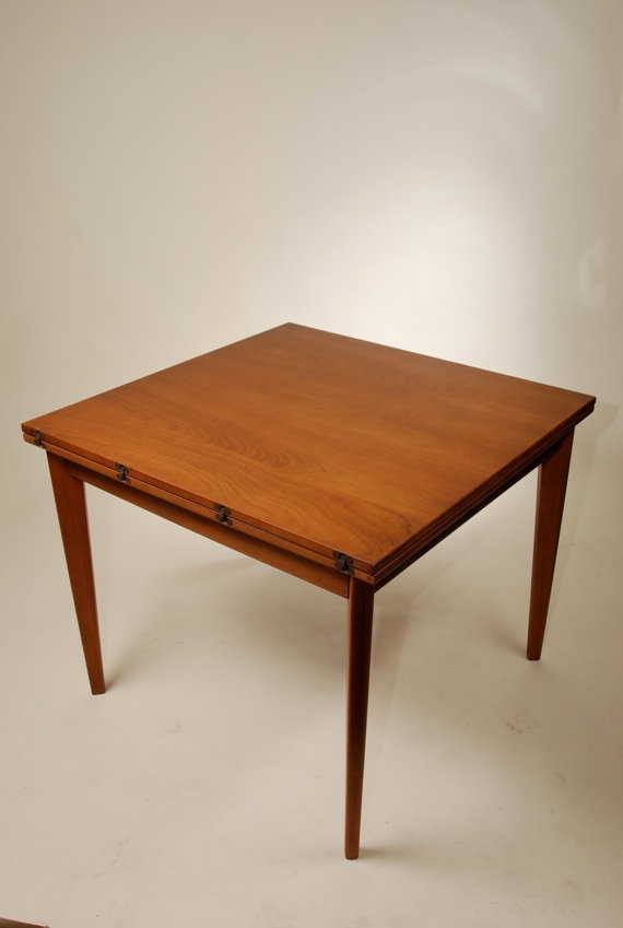 Teak Dining Table With Expandable Sides 629