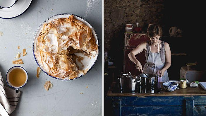 littleupsidedowncake.com. The creative force behind this blog-meets-organic-bakery is Sanda Vuckovic Pagaimo. Born in the former Yugoslavia, now living in Portugal, Sanda updates her blog with evocative travel and lifestyle images of her adopted home, and wholesome recipes from her homeland.