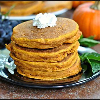 Vanilla Pumpkin Pancakes