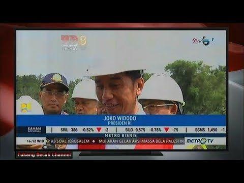 Akhirnya P. JOKOWI Bicara Banjir Jakarta Sarankan Anies - Sandi