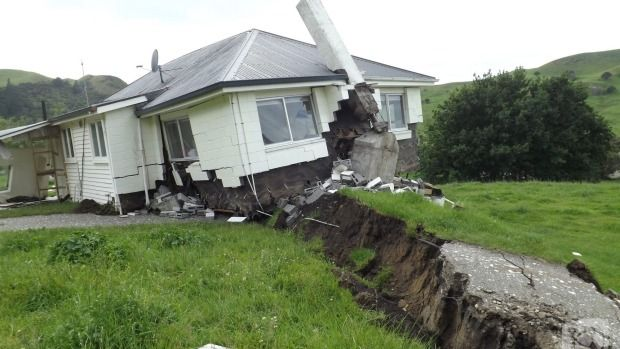 What happens when you build a house on a faultline 2016 Kaikoura, New Zealand