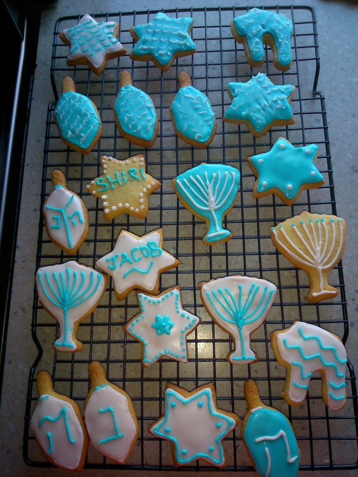Chanukah Biscuits