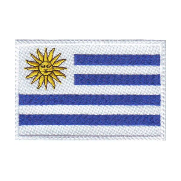 URUGUAY FLAG EMBROIDERED PATCH #ThePatchLab