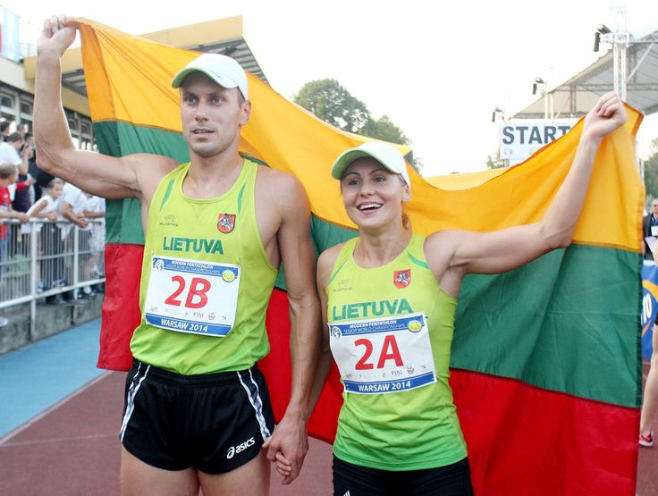 A thrilling final day of action at the Modern Pentathlon World Championships in Warsaw saw Lithuania crowned Mixed Team Relay Gold medalists. Olympic champion Laura Asadauskaite and Justinas Kinderis (LTU) brought the curtain down on an exhilarating seven days of competition in Poland on Sept. 7. The modern pentathlon is an Olympic sport that comprises five events: fencing, 200 m freestyle swimmin... See More.jpg (2048×1545)