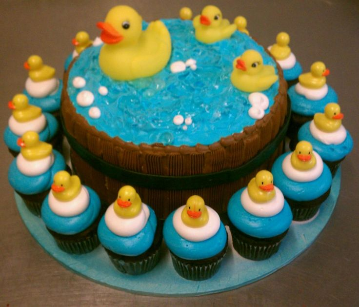 Rubber Ducky Cake, Duck Cake And Baby Shower Cakes