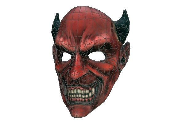 Payday the heist wolf mask