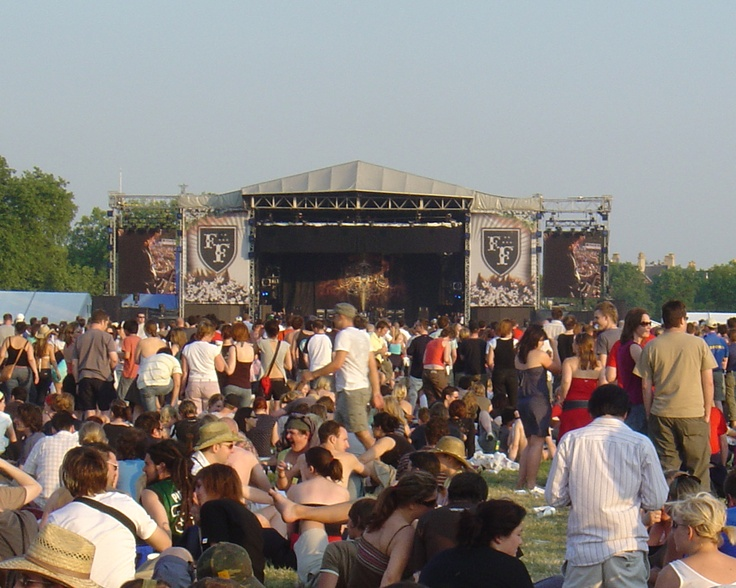 Foo Fighters - 17/06/06 - Live @ Hyde Park. Amazing gig <3