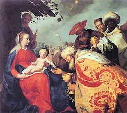 """The Solemnity of the Epiphany of the Lord: Today the Church celebrates the Solemnity of the Epiphany. """"The Lord and ruler is coming; kingship is his, and government and power."""" With these words the Church proclaims that today's feast brings to a perfect fulfillment all the purposes of Advent. Epiphany, therefore, marks the liturgical zenith of the Advent-Christmas season. — Pius Parsch"""