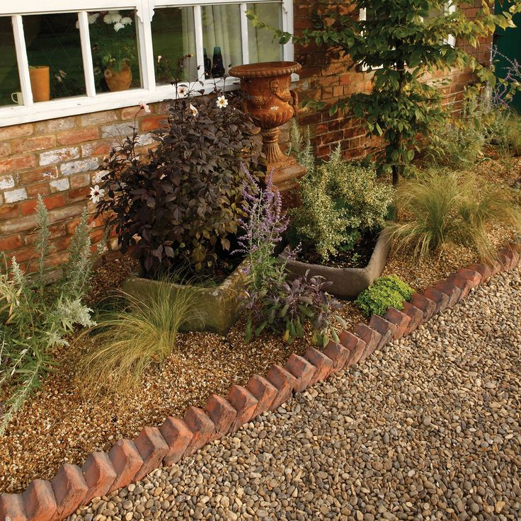 Sawtooth Paving Edging Brindle Red, (L)550mm (H)140mm (T)100mm Pack of 30 | Departments | DIY at B&Q