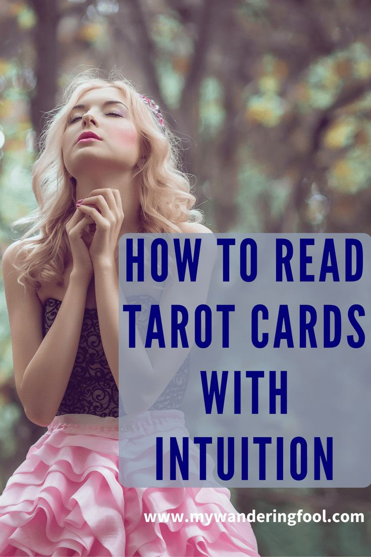how to read tarot with intuition #tarot