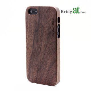 Natural Real Carving Pattern Bamboo Wood Wooden Hard Cover Case for iPhone5/4/4S: USD $19.99