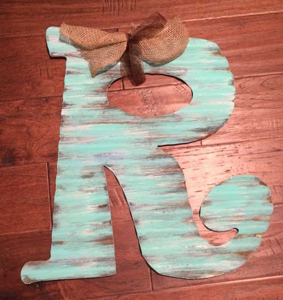 Large Corrugated Metal Letters Best 25 Metal Letters Ideas On Pinterest  Metal Letters For
