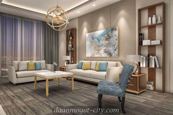 Design interior apartemen Daan Mogot City