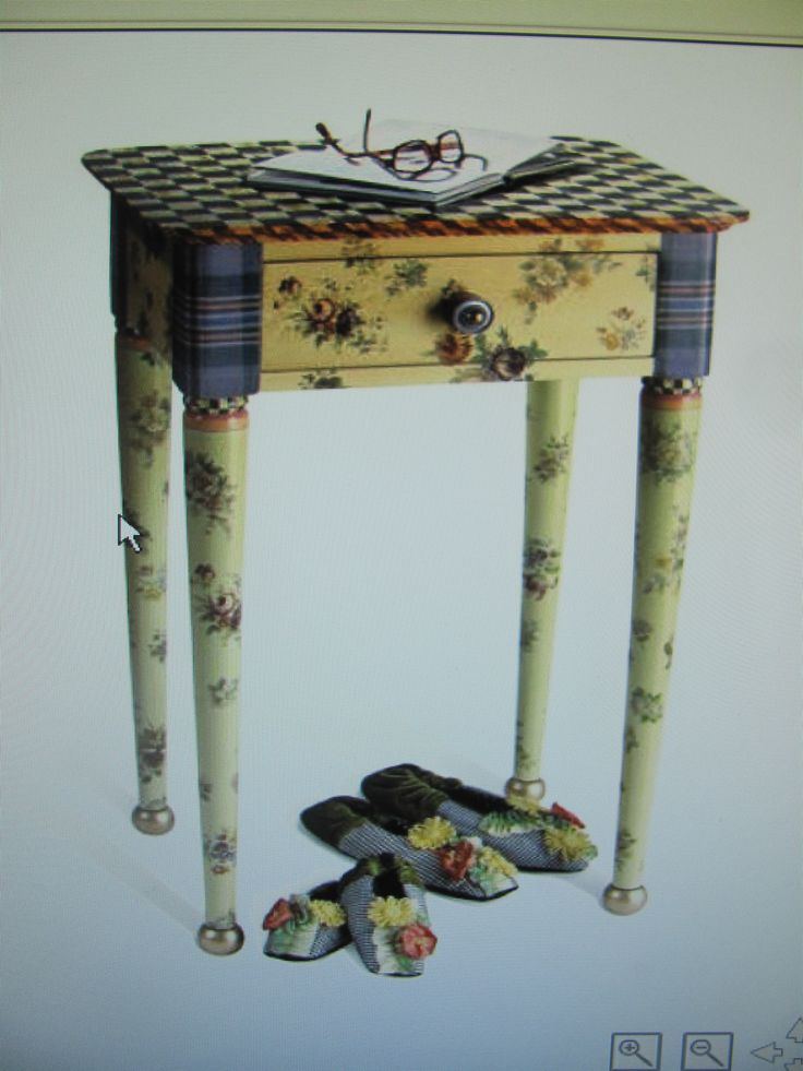 1000 ideas about whimsical painted furniture on pinterest - Hand painted furniture ideas ...