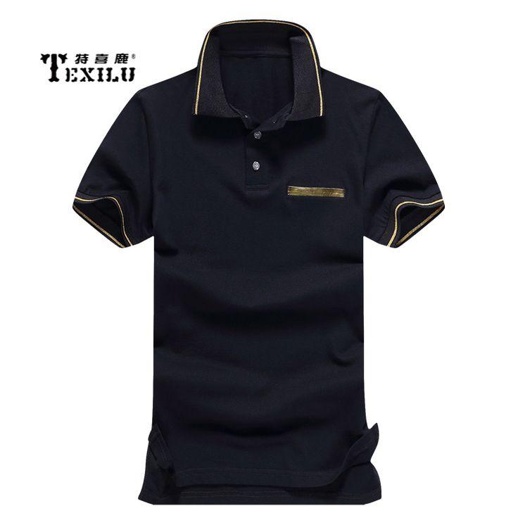 Mens Polo Shirt Brands 2017 Male Short Sleeve Fashion Casual Slim False Pocket Embroidery Polos Men Jerseys M-4XL