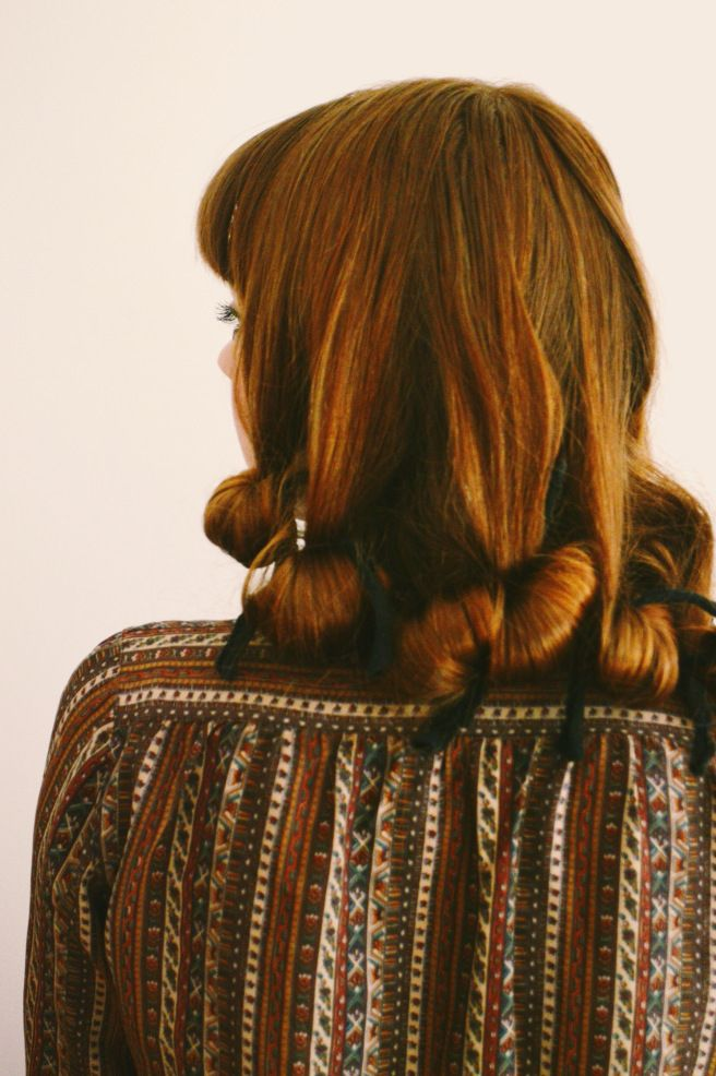 rag curls tutorial