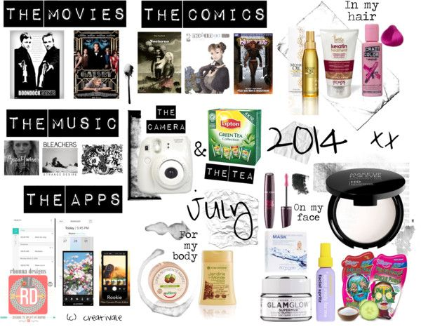 Favourites - July 2014  New post on http://creati-vale.com • July #favourites ♡  #beauty #movies #comics #music #tea #instaxmini #instax_mini #fujifilm #white #cosmetics #blogger #lifestyle #july #geek #geekgirl #hair #haircare #facecare #picoftheday #likeforlike #instagramer #instapicture #instamillion #instagroove #ignation #instahub #bestphoto #instapic #life #ig_universal #instaweb #instafollow