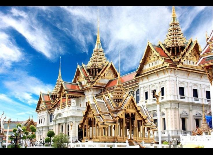 Grand Palace Bangkok | Thailand: Built In, Palaces Bangkok, Bangkok Thailand, Beautiful Places, Travel, National Treasure, Around The World, Photo, Grand Palaces