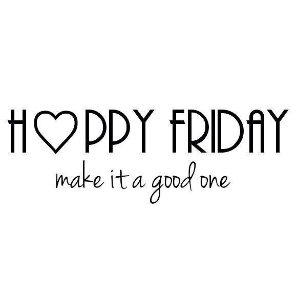 Un felice #venerdì a tutti voi!!! #HappyFriday