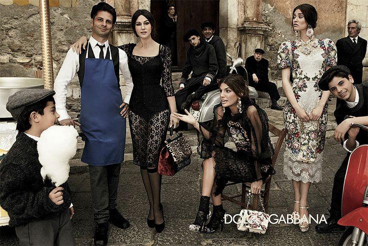 Dolce & Gabanna: Monica Bellucci, Fashion Style, Ads Campaigns, Dolce & Gabbana, Gabbana Fall, Fashion Ads, Fall Winter, Bianca Balti, Sweet Life