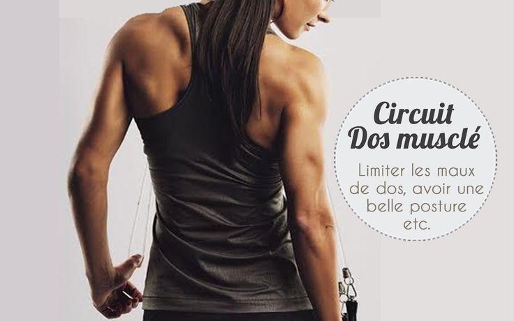 Circuit ciblé pour un dos musclé #fitfrenchies #fitness #healthy #programme…