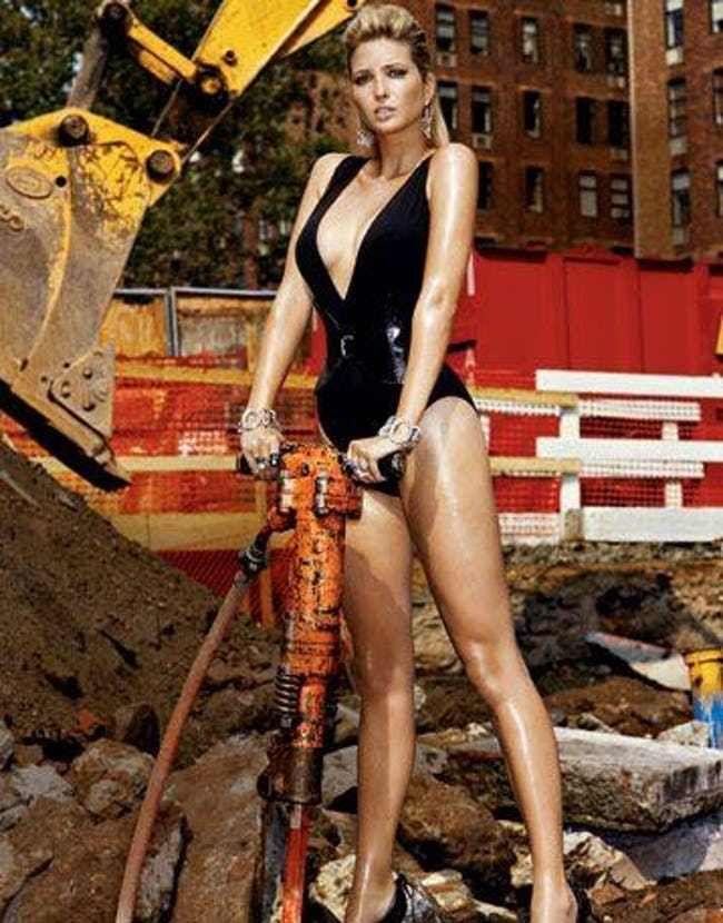 Jackhammer is listed (or ranked) 1 on the list Hottest Ivanka Trump Photos