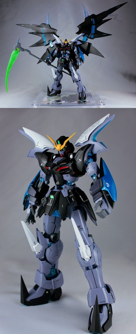 GUNDAM GUY: MG 1/100 Gundam Deathscythe Hell Custom 'Go to Hell' - Customized Build