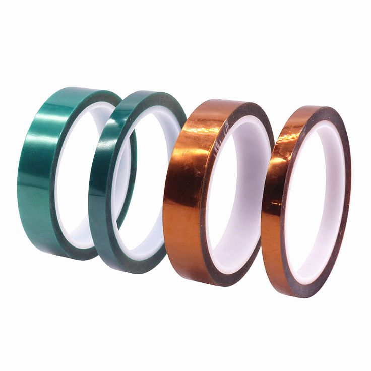 1 Pcs Gold And Green Scotch Tape Single-sided Tape Length 33m / Width 1cm And 2cm Electronic Appliances Spray Cover